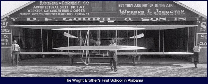 The Wright Brother's First School